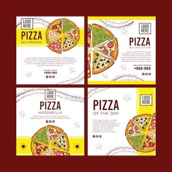Concetto di deliziosa pizza