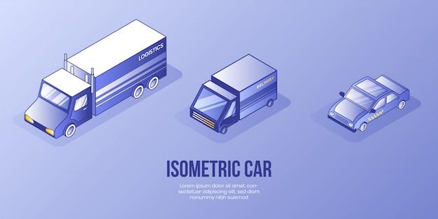 Concetto di design isometrico digitale