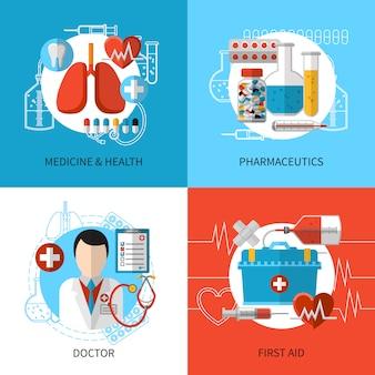 Concetto di design medico