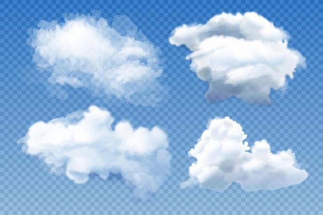 Concetto di disposizione delle nuvole
