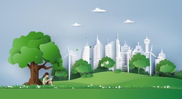Concetto di eco e ambiente