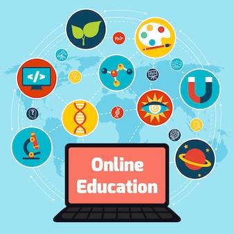 Concetto di educazione online