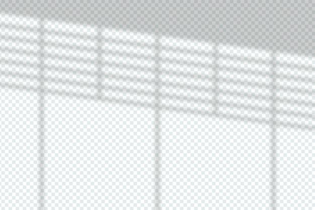 Concetto di effetto di sovrapposizione di ombre grigie