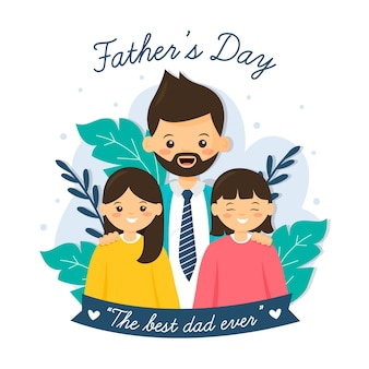 Concetto di festa del papà