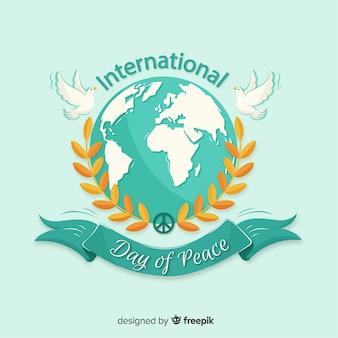 Concetto di giornata internazionale della pace