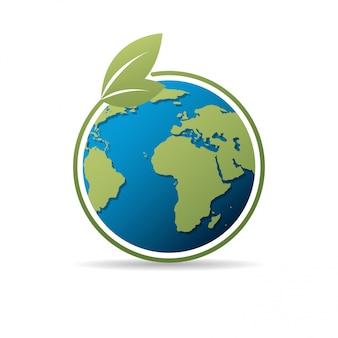 Concetto di giornata mondiale dell'ambiente con save the world