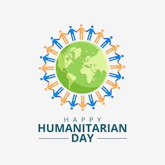 Concetto di giornata umanitaria mondiale