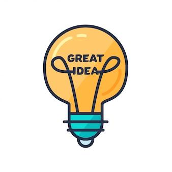 Concetto di grande idea