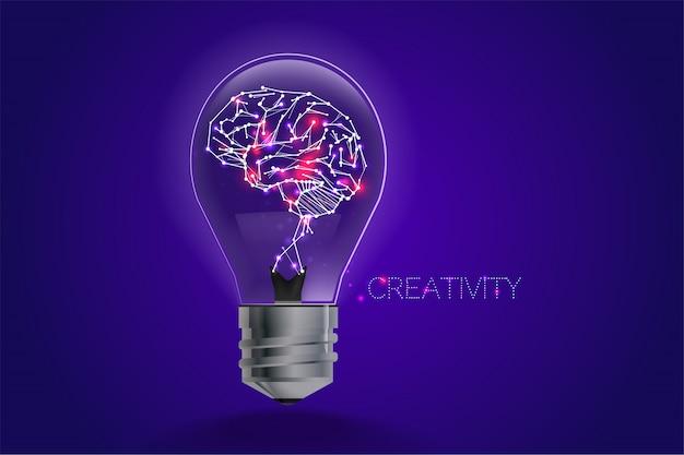 Concetto di idee lampadina