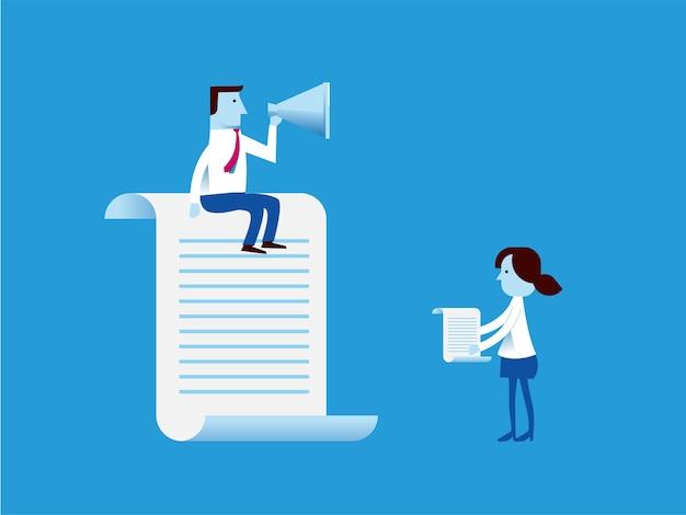 Concetto di infografica affari comunicazioni aziendali