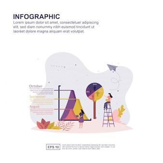 Concetto di infografica