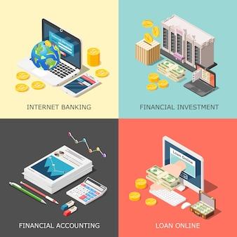 Concetto di investimento finanziario