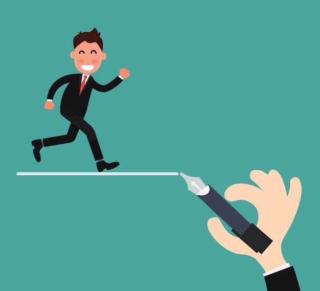 Concetto di leadership aziendale