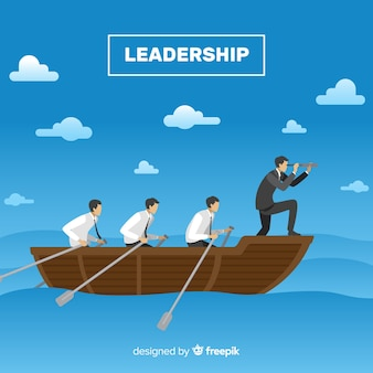 Concetto di leadership creativa