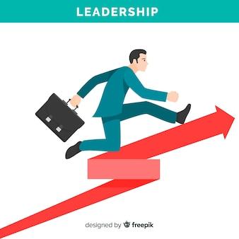 Concetto di leadership piatta