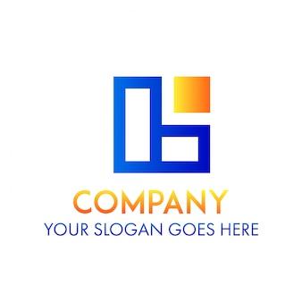 Concetto di logo della società di finanza aziendale