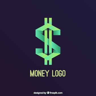 Concetto di logo di denaro creativo