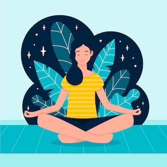 Concetto di meditazione