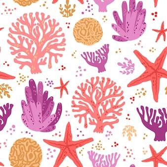 Concetto di modello di corallo