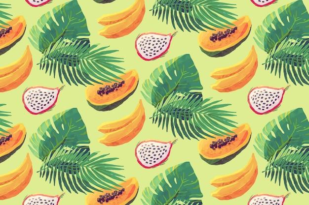 Concetto di modello di frutta