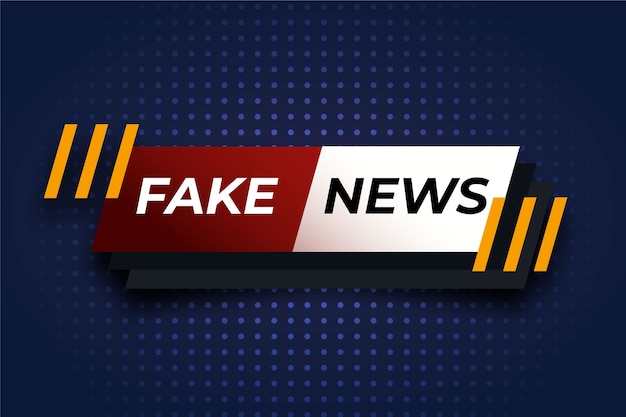Concetto di notizie false
