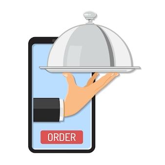 Concetto di ordine online