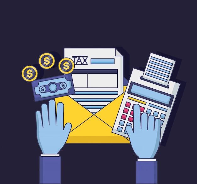 Concetto di pagamento fiscale