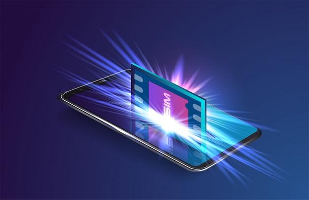 Concetto di pagamento mobile