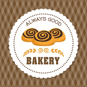Concetto di panetteria con disegno dell'icona