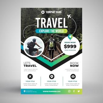 Concetto di poster di viaggio