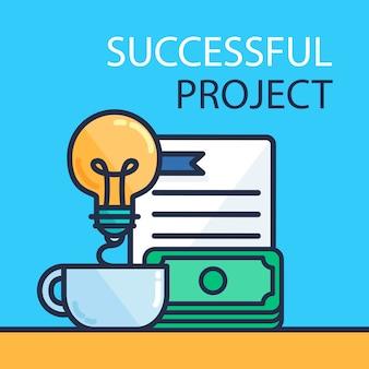 Concetto di progetto di successo