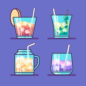 Concetto di raccolta cocktail