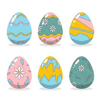 Concetto di raccolta delle uova di giorno di pasqua