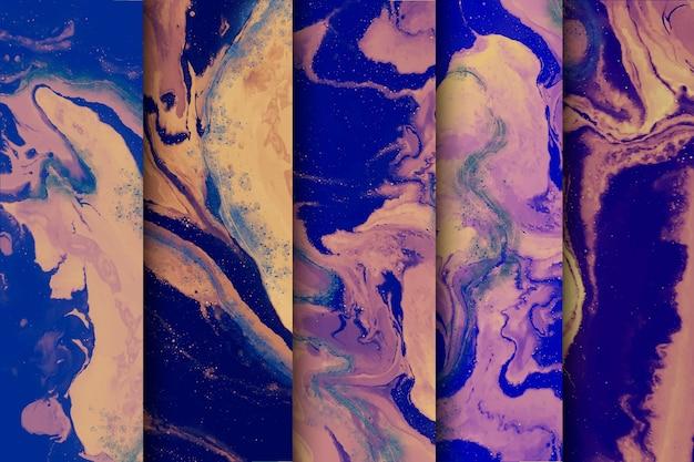 Concetto di raccolta di marmo sfondo