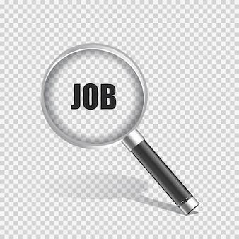 Concetto di ricerca di lavoro