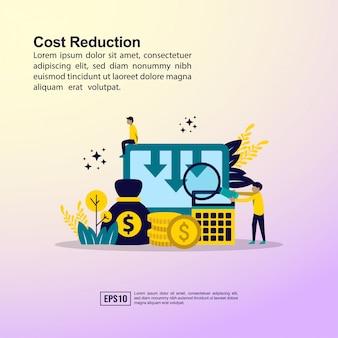 Concetto di riduzione dei costi