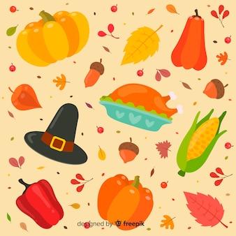 Concetto di ringraziamento in design piatto