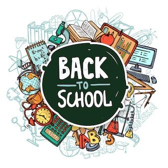 Concetto di ritorno a scuola