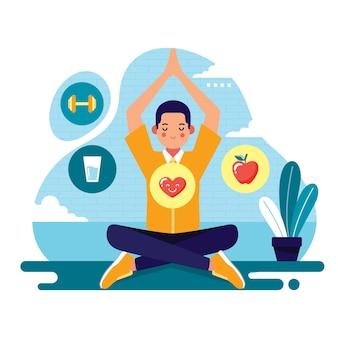 Concetto di salute cura di sé