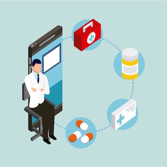 Concetto di salute digitale