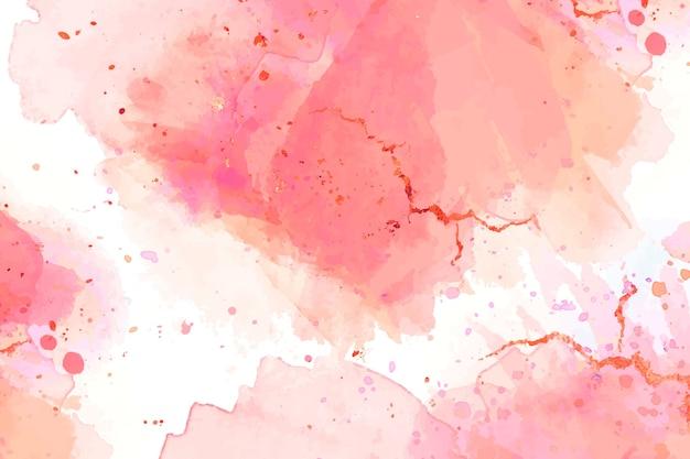 Concetto di sfondo ad acquerello