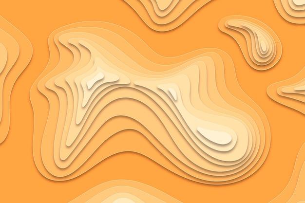Concetto di sfondo mappa topografica