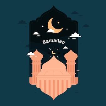 Concetto di sfondo ramadan