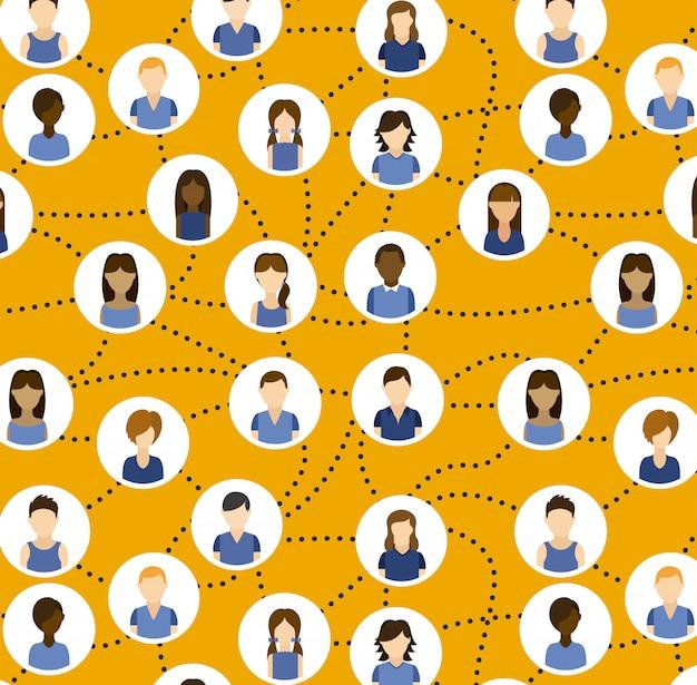 Concetto di social network