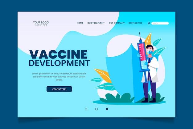 Concetto di sviluppo del vaccino