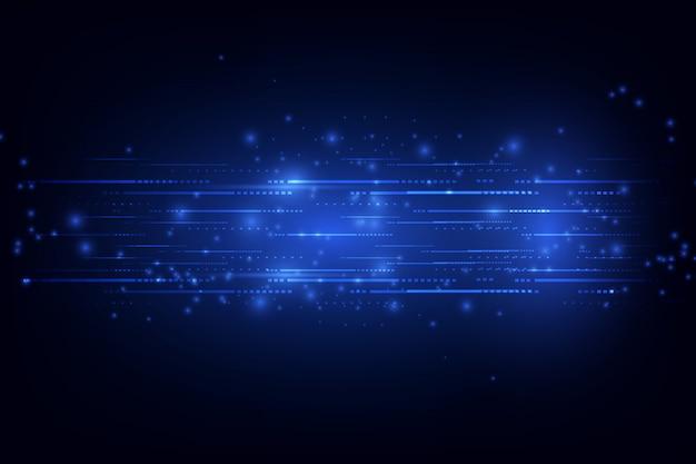 Concetto di tecnologia astratta. illustrazione vettoriale sfondo
