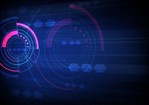 Concetto di trasmissione dei dati, illustrazione vettoriale