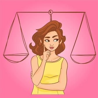 Concetto di uguaglianza femminile