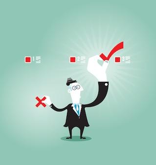 Concetto di voto - concetto di affari