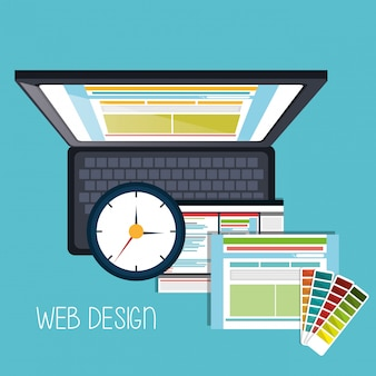 Concetto di web design